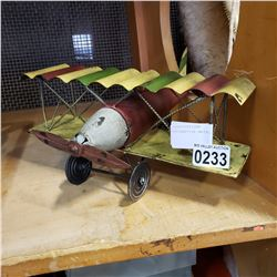 DECORATIVE METAL PLANE