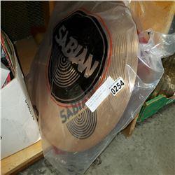 """SABIAN B8 CRASH RIDE 18"""" SYMBOL IN BAG NEVER USED"""