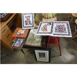 LOT OF FIRST NATIONS ART