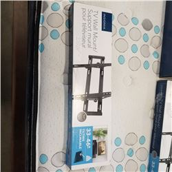 NEW OVERSTOCK INSIGNIA 33-46 INCH TILTING TV WALL MOUNT 80LB CAPACITY