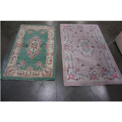 2 CARPET RUNNERS