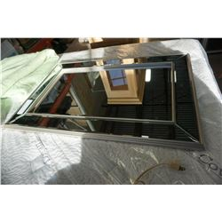 BEVELLED GLASS WALL MIRROR