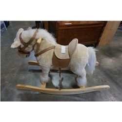 TALKING ROCKING HORSE