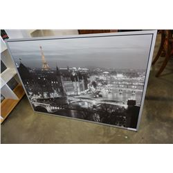 LARGE PARIS PRINT 55 WIDE X 40 INCHES TALL