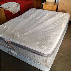 SERTA SLUMBER FORM PAMID DOUBLE SIZE MATTRESS AND BOXSPRING
