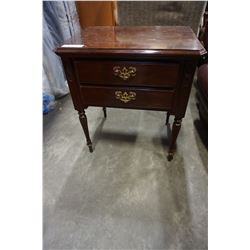ETHAN ALLEN 2 DRAWER NIGHT STAND