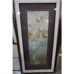 ABSTRACT PICTURE IN FRAME 4FT TALL