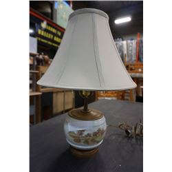 PORCELAIN FARMHOUSE LAMP