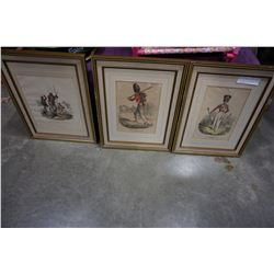 3 ROYAL IRISH FUSILIERS PRINTS