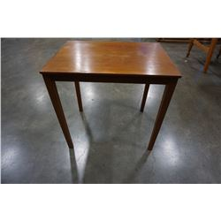 MADE IN DENMARK SOLID TEAK END TABLE
