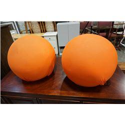 2 BALERI ITALIA BALL SEATS