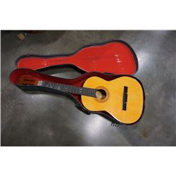ACOUSTIC GUITAR BODY ONLY IN HARD CASE