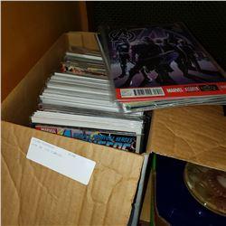 BOX OF 120 COMICS