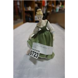 ROYAL DOULTON PRETTY LADY FIGURE