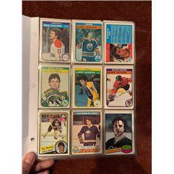 BINDER OF 100+ VINTAGE OPEECHEE STAR CARDS