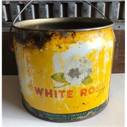WHITE ROSE 25 LBS GREASE PAIL