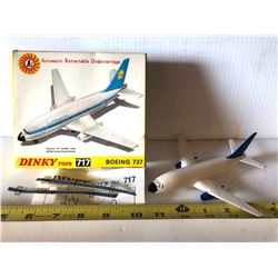 DINKY BOEING 737 TOY - AS NEW - ORIGINAL BOX