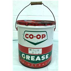 1960'S CO-OP GEAR LUBE 35 LB PAIL