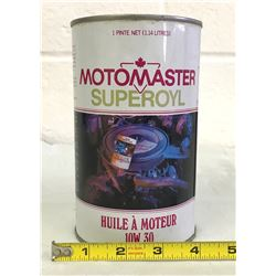 GR OF 2, MOTO-MASTER OIL CAN & 1 LB WHEEL BEARING LUBRICANT