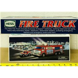GR OF 2 HESS FIRE TRUCKS - AS NEW