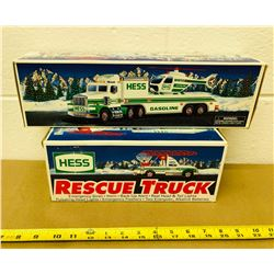 GR OF 2, HESS RESCUE TRUCK & HELICOPTER
