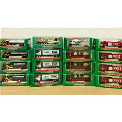 GR OF 16, HESS 1999 - 2006 MINIATURE TRUCKS