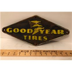 GOOD YEAR TIRES CAST SIGN