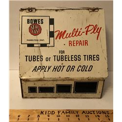BOWES TUBE DISPLAY TIN BOX - HAMILTON