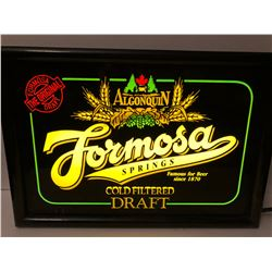 FORMOSA SPRINGS ILLUMINATING BAR SIGN