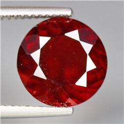 Orange Red Hessonite Garnet 2.60 Ct