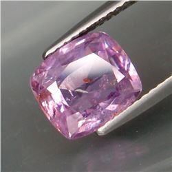 Natural Lavender Unheated Sapphire 3.40 Cts