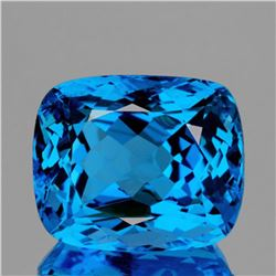 NATURAL AAA SWISS BLUE TOPAZ 56.40 Ct - FL