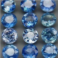 Natural Blue Sapphire 12Pcs/4.41Ct.