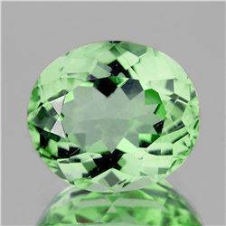 Natural Healing Green Color Amethyst 14.98 Cts - VVS