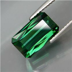 Natural Blue Green Tourmaline 3.52 Cts - Untreated