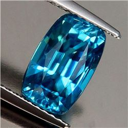 Natural Untreated Blue Zircon 4.47 Cts - VVS
