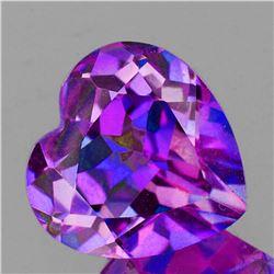 Natural Pinkish Purple Heart Mystic Topaz 16 MM - FL
