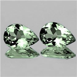 NATURAL GREEN AMETHYST15x10 MM [FLAWLESS-VVS]
