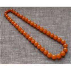 Antique Natural Amber Necklace