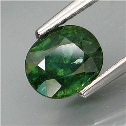 Natural Bluish Green  Sapphire 1.82 Ct