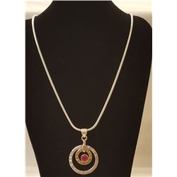 OUTSTANDING 1 CT RUBY PENDANT