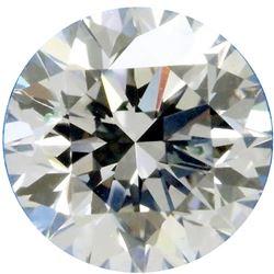 SPARKLING 3.52 CT WHITE ROUND CUT DIAMOND