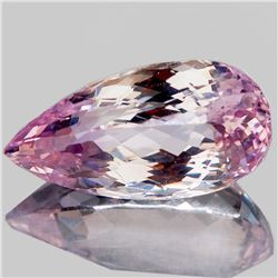 NATURAL BI-COLOR PINK KUNZITE 25x13 MM - FL