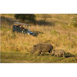 SEVEN DAY PHOTOGRAPHIC SAFARI FOR TWO AT AFRICAN BIG FIVE GAME RESERVE