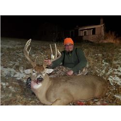 5/6 DAY TROPHY IOWA WHITETAIL HUNT