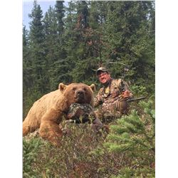A FIVE DAY NORTHERN SASKATCHEWAN BLACK BEAR HUNT FOR ONE HUNTER
