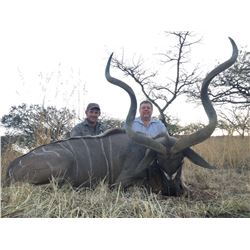 SEVEN DAY KUDU AND SABLE HUNT IN SOUTH AFRICA FOR TWO HUNTERS