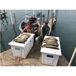 DETROIT RIVER WALLEYE FISHING TRIP FOR THREE