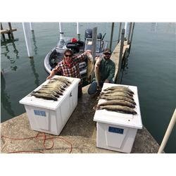 DETROIT RIVER WALLEYE FISHING TRIP FOR THREE
