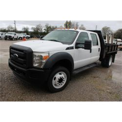 2012 FORD F450 Flatbed Truck